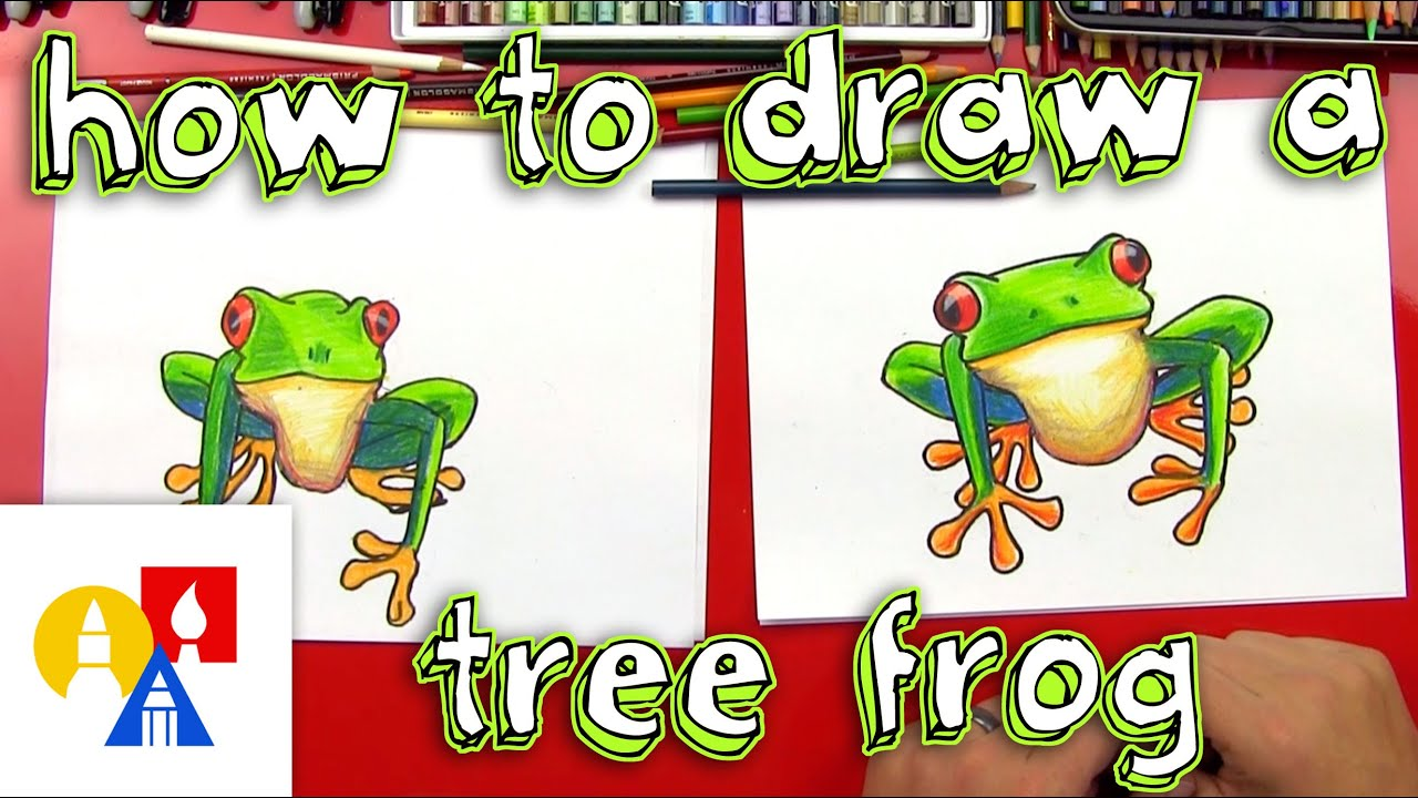 Realistic Tree Frog Drawings How To Draw A Tree Fro...