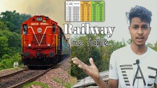 Train ka Time Kaise Dekhe   Railway Time Table Chart Today   Train time Table new Apps   Railway screenshot 4