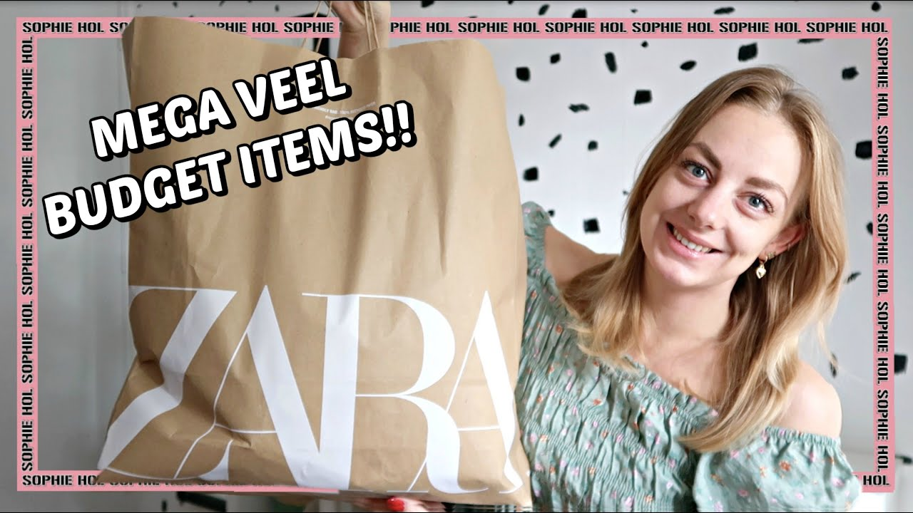 MEGA ZARA TRY-ON SHOPLOG ♡ | Sophie Hol | 2020