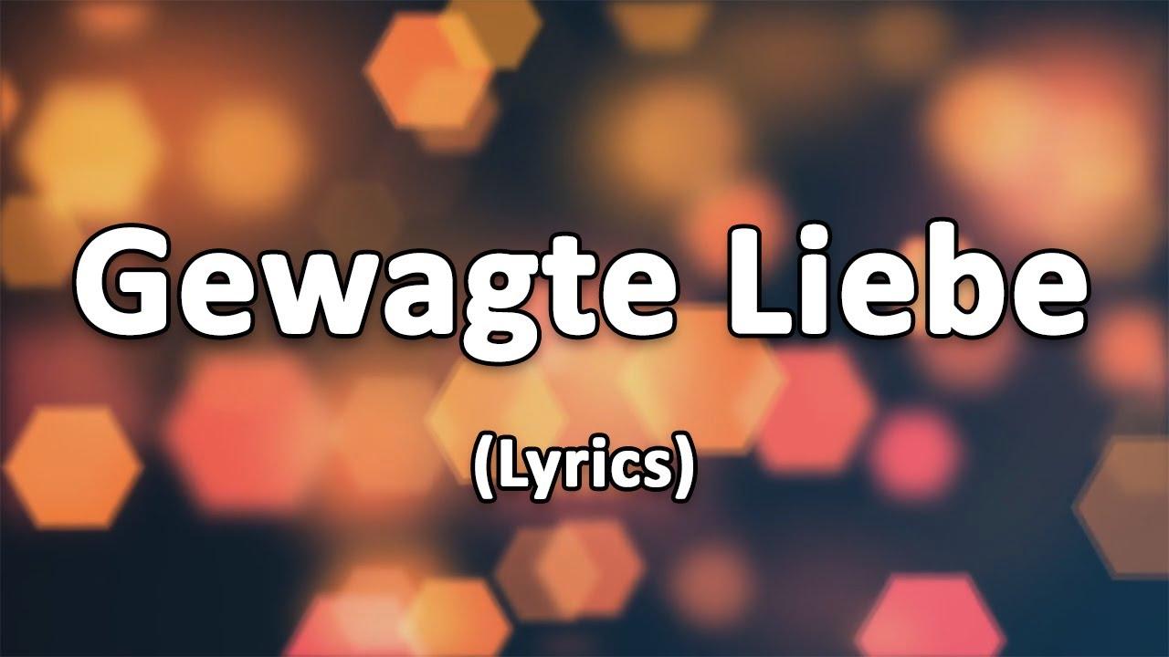 Gewagte Liebe (Reckless Love) - Text/Lyrics - YouTube
