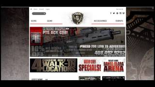 Airsoft Extreme NEW Site Tutorial