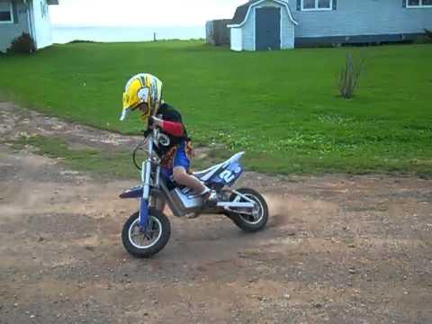 Ryder Mx 350 Razor Dirt Bike Youtube