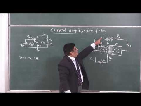 XII-14-14-Transistor current gain Pradeep Kshetrapal Physics channel