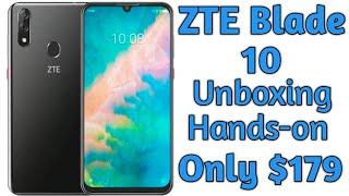 ZTE Blade10 Unboxing and Complete Walkthrough (Only $179 Unlocked for all GSM Carriers