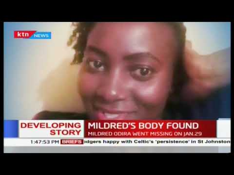 Body of missing Mildred Odera a Nation Media Group Employee has been found at the city mortuary