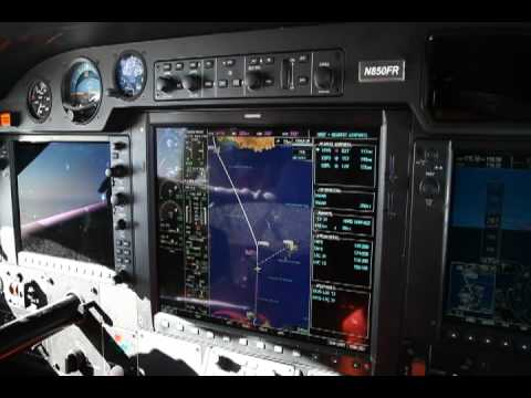 Daher-Socata TBM 850 Atlantic Crossing Video