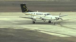 First aircraft landing on St Helena Island