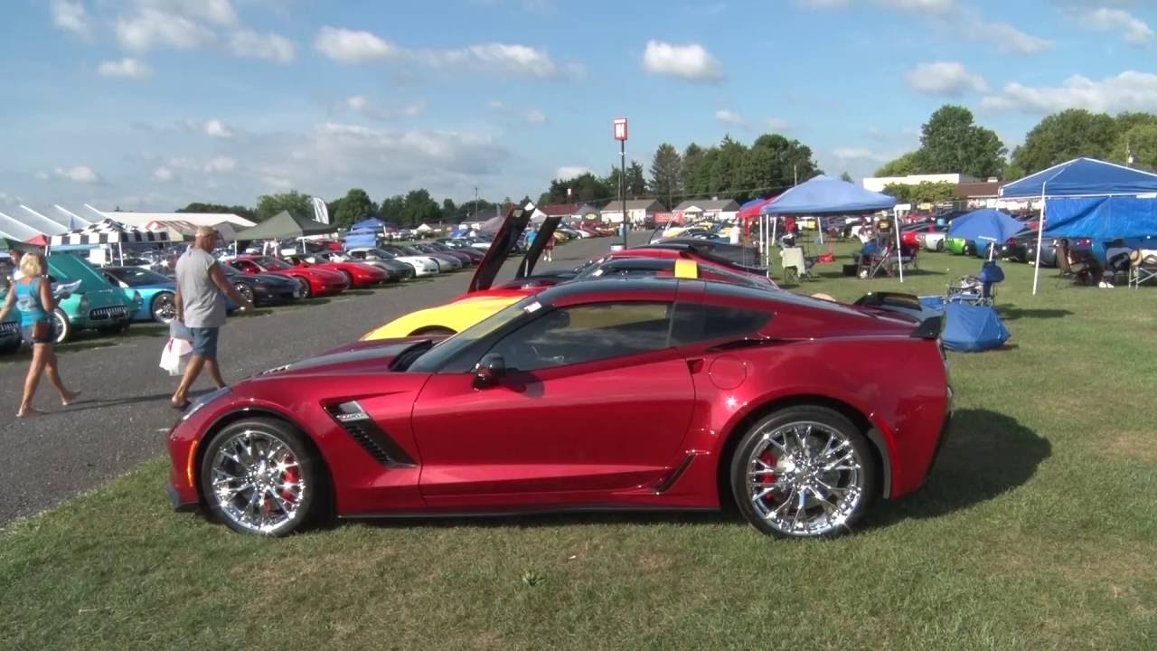 Corvettes At Carlisle 2016 Highlights