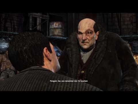 Batman Arkham city Part 1 Bruce Wayne arrested