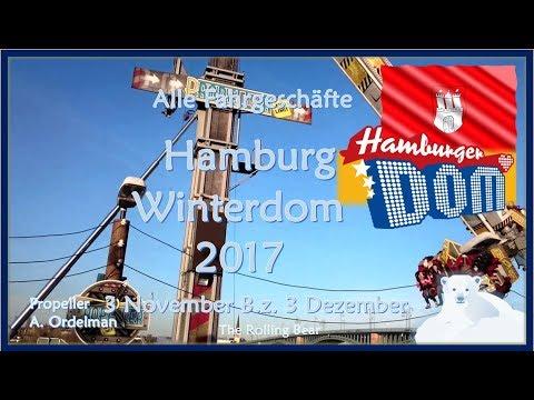 Alle Fahrgeschäfte | Hamburg Winterdom (2017)