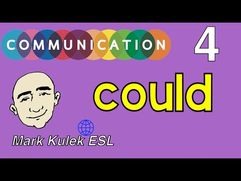 Could  (possibility, Requests + More) - English Communication | Mark Kulek - ESL
