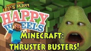 Pear plays Happy Wheels: Minecraft Levels - THRUSTER BUSTER!