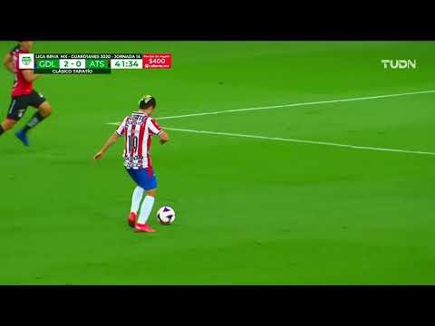 Chivas [2] - 0 Atlas - Jose Macias 41'