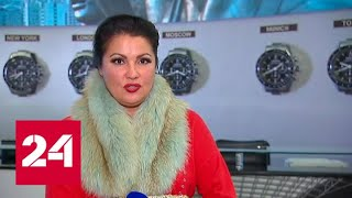 Смотреть видео Анна Нетребко прилетела в Москву спеть на юбилее Александры Пахмутовой - Россия 24 онлайн
