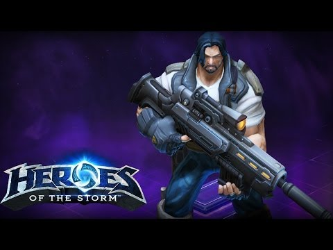 Soldier 76 Can Be Used For Jimmy Raynor From The Starcraft Series In Which Has Jims Blaster Changed And Some Overall Skin Colours Him As Well