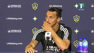Zlatan: A 'mistake' to compare me to Carlos Vela