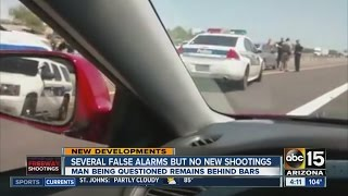 Several false alarms but no new shootings in Phoenix