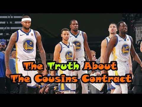 The Truth About The DeMarcus Cousins Contract