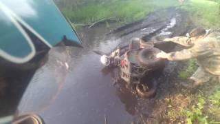 Падение с квадроцикла irbis atv 125