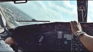 cockpit vmc take off boeing 737 300 cabina merida mexico