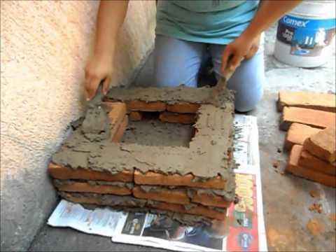 Horno casero para fundir youtube - Materiales para hacer un horno de lena ...