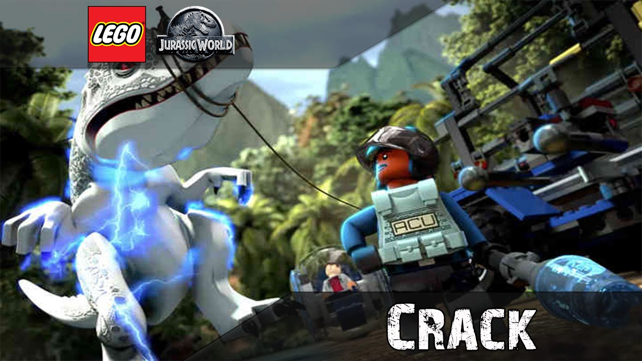 lego jurassic world crack only