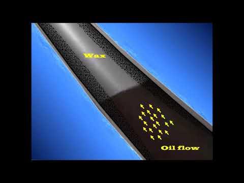 Wax Deposition/Fluid Flow Assurance - ترسب الشمع في انابيب النفط الخام