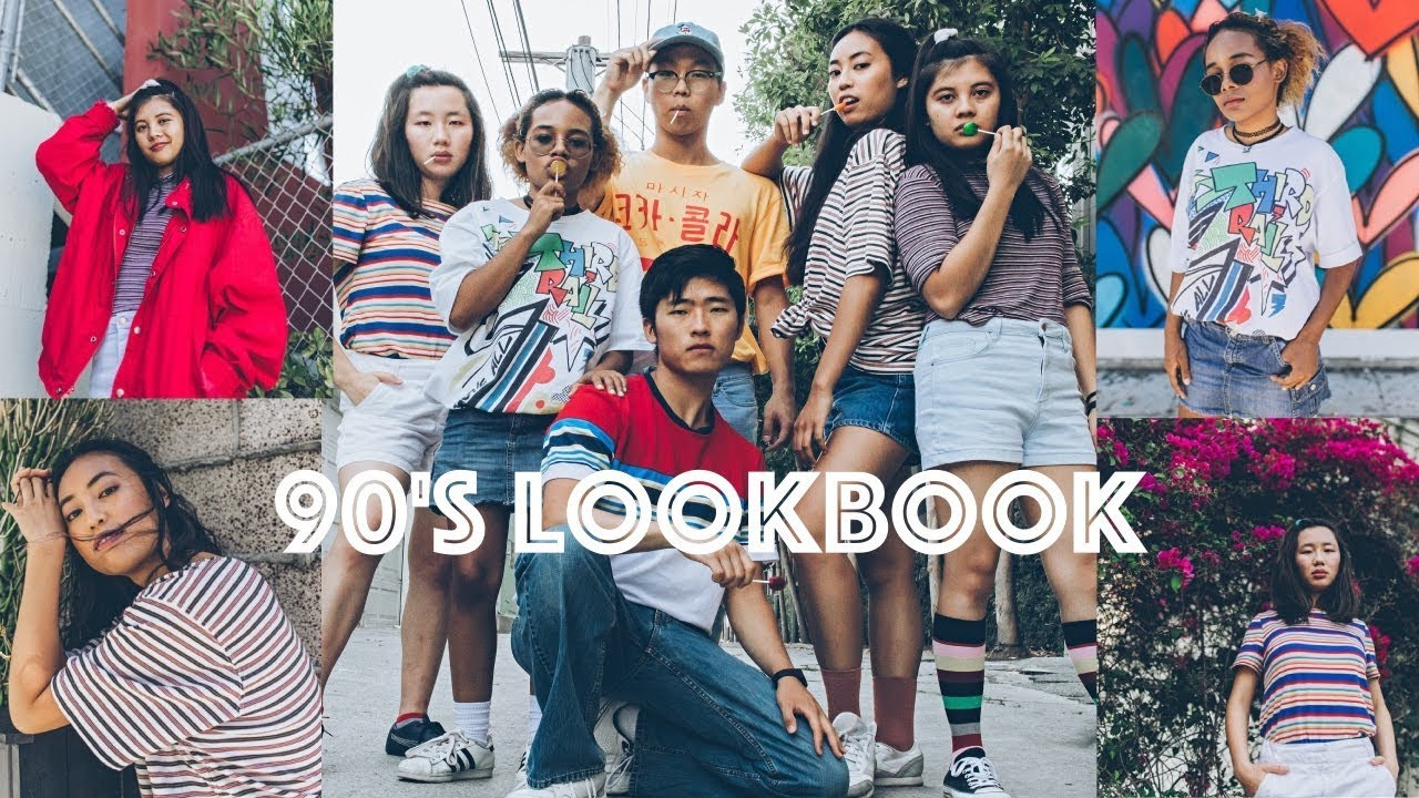 90's Lookbook | RETRO INSPIRED OUTFITS - YouTube