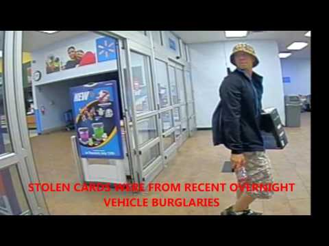 Walmart Credit Card Fraud