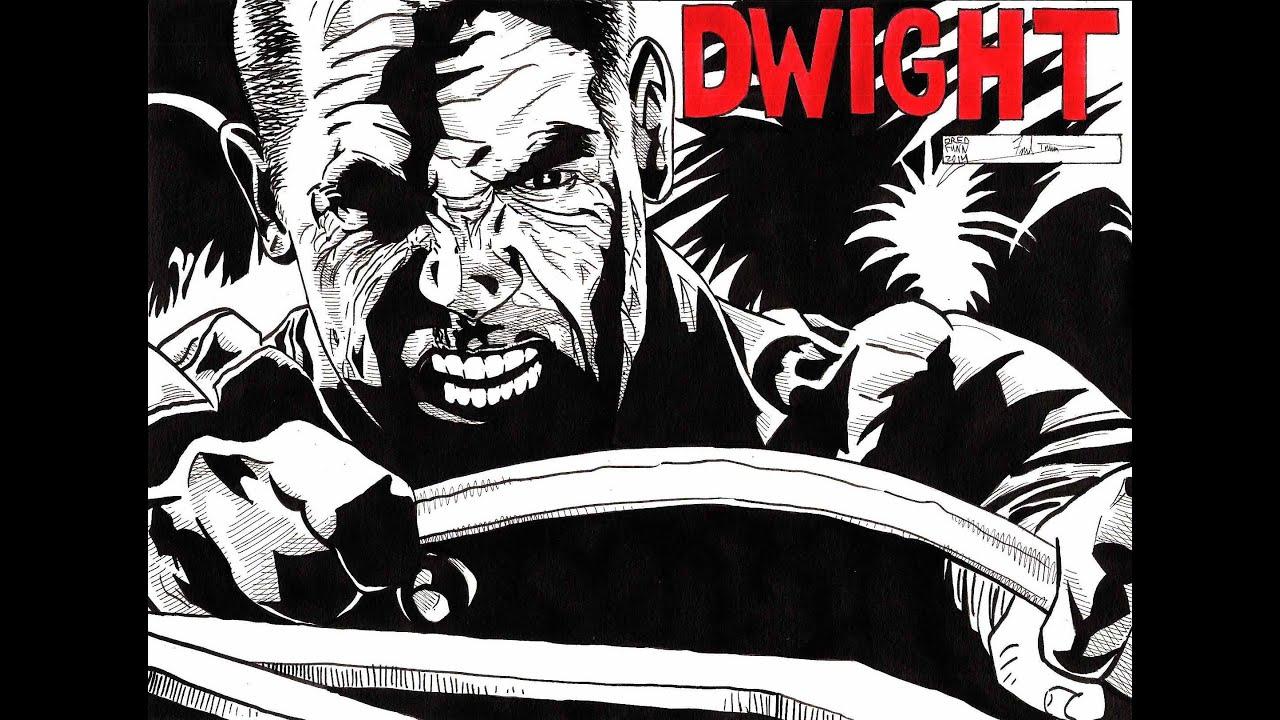 Dwight - Sin City - A Dredfunn Original Comic Style Time ...