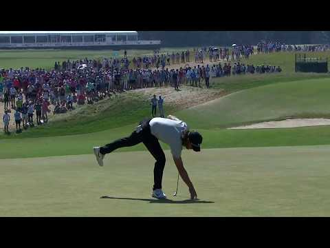 Russell Knox, Tommy Fleetwood - 2018 U.S. Open - Round 4
