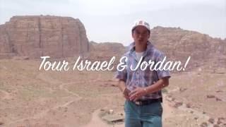 Jordan Israel End-Time Bible Tour, King Abdullah II, Steve Cioccolanti