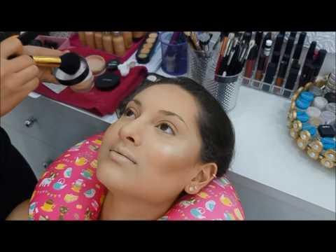 Cut Crease Aberto Maquiando Cliente