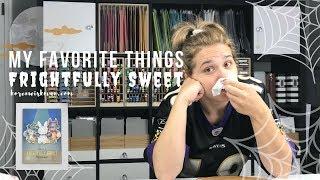 My Favorite Things  Frightfully Sweet Card Video