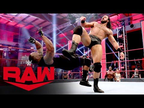 Drew McIntyre vs. MVP: Raw, June 1, 2020