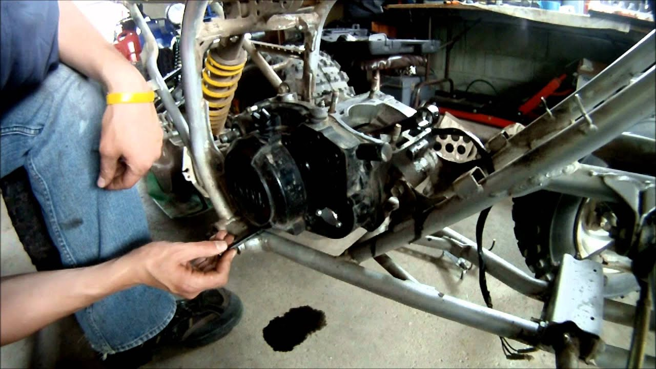 hight resolution of yamaha blaster rebuild part 3 of 6 engine covers and clutch
