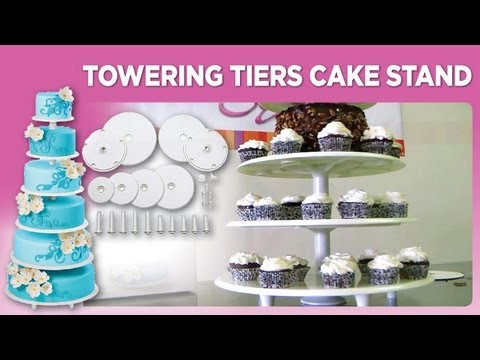 sc 1 st  YouTube & Towering Tiers Cake Stand - YouTube