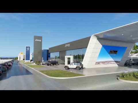 Modern Car Dealer Franchise 3D Animation