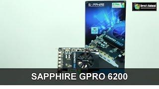 รีวิวการ์ดจอ SAPPHIRE GPRO 6200