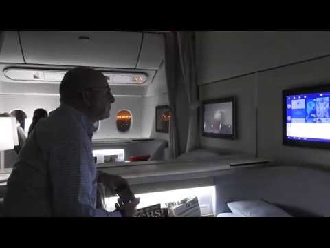 Air France first class la premiere 777-300 PVG-CDG