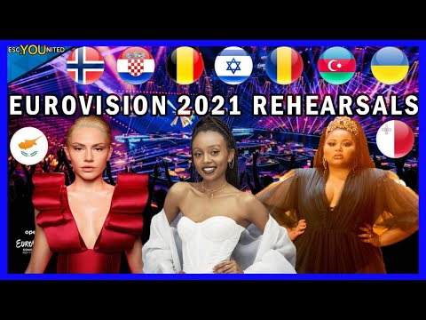 Eurovision 2021 Rehearsals - Day 2 Live Stream (From Press Center)
