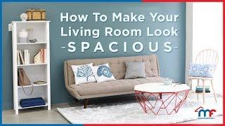 How To Make Your Living Room Look Spacious - Mandaue Foam Home TV