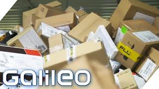 Paketabfertigung am Flughafen! So anstrengend ist der Logistik-Job! | Galileo | ProSieben
