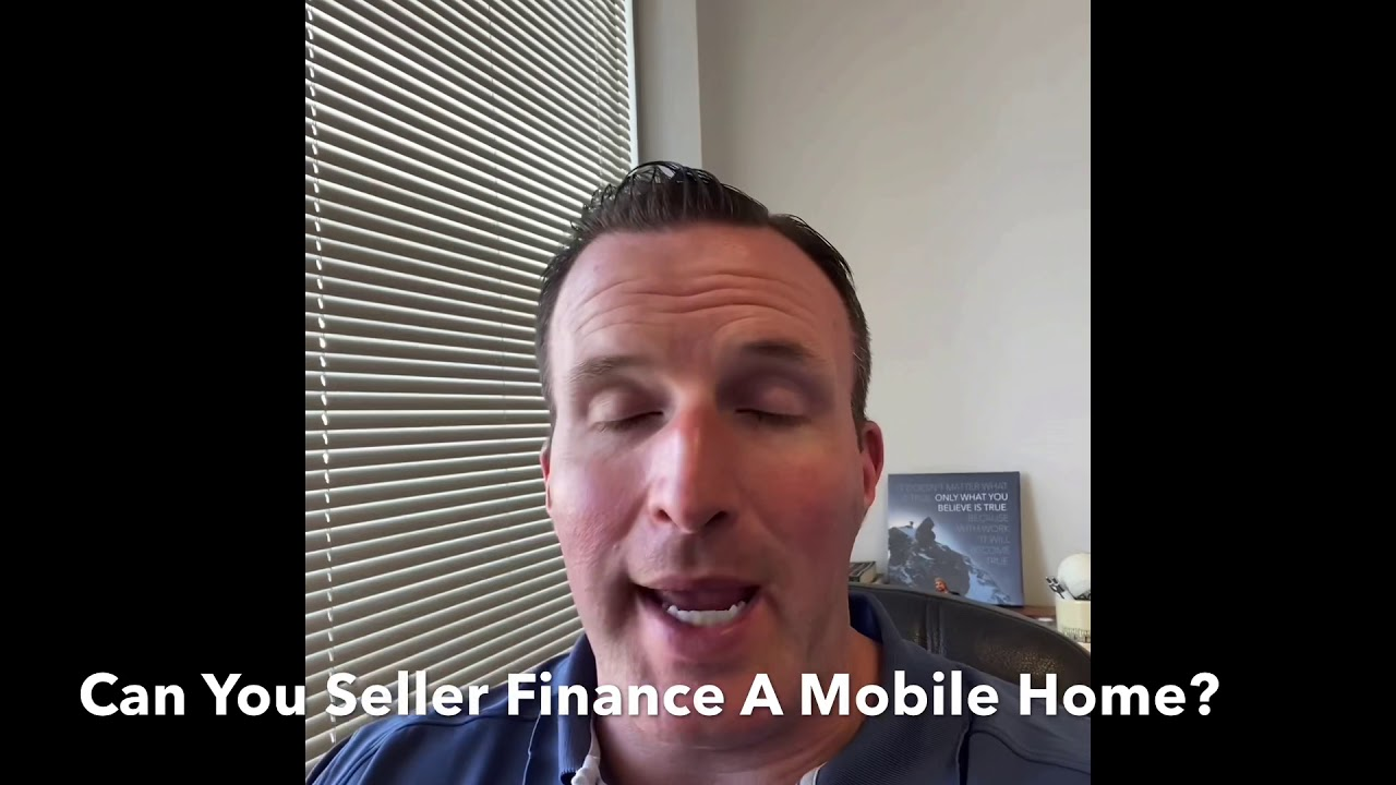 Is Seller Financing Available To Buy A Mobile Home?