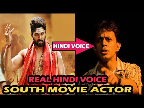 Top 5 Big South Indian Actor Hindi Dubbed Real Voice Artist | The Topic