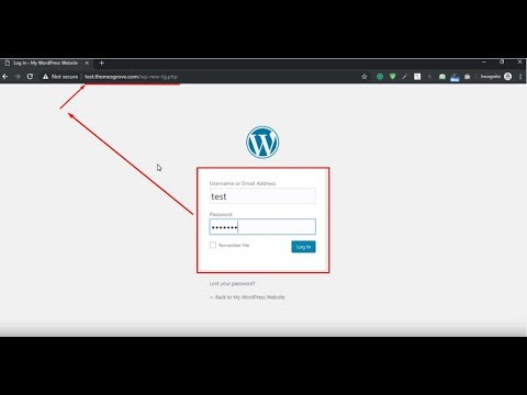 How To Change Wordpress Login URL Without Plugin-Complete Video