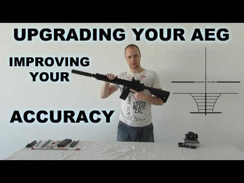 Airsoft - How to increase accuracy & upgrade your AEG (Specna Arms SA-B03)