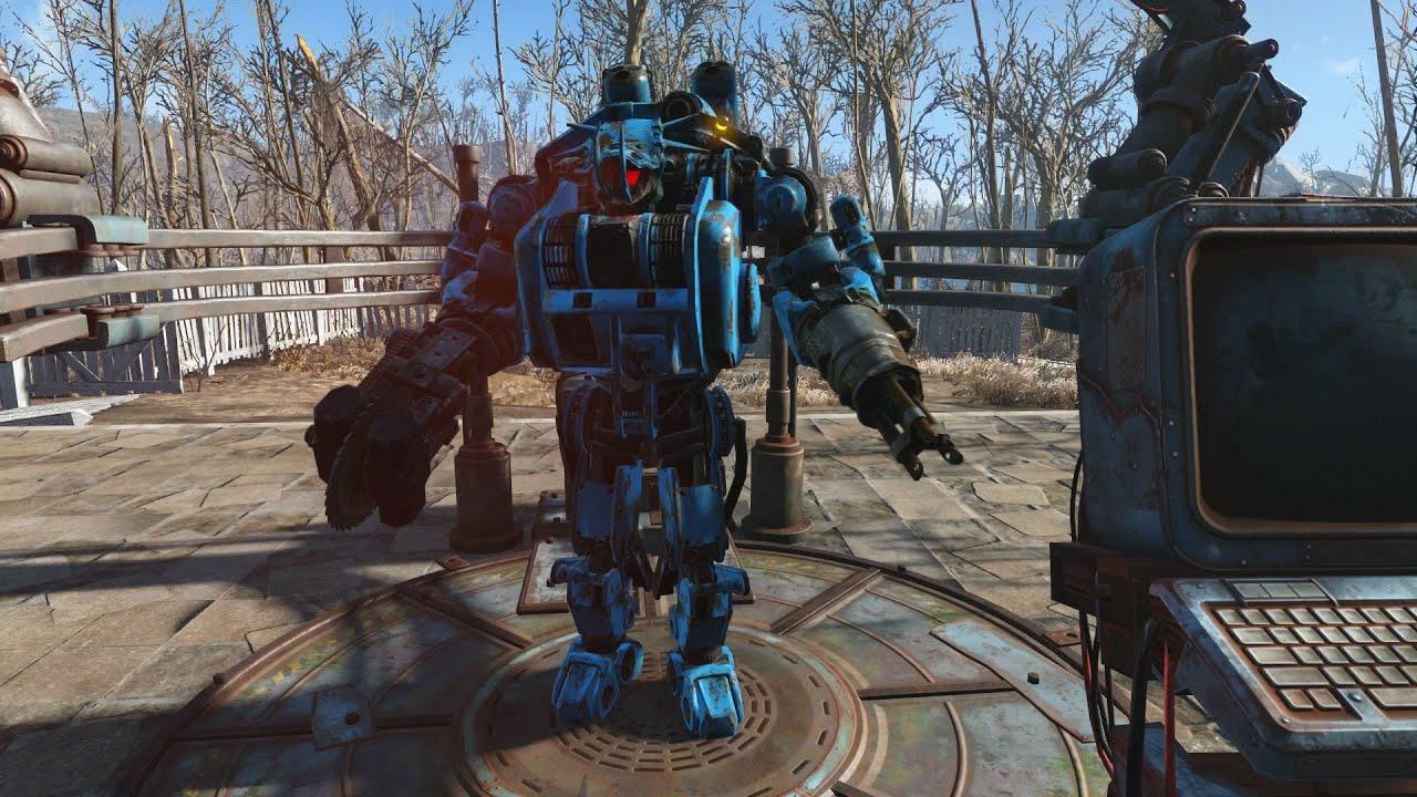 Fallout 4 automatron dlc best robot build setup ada for Best house design fallout 4