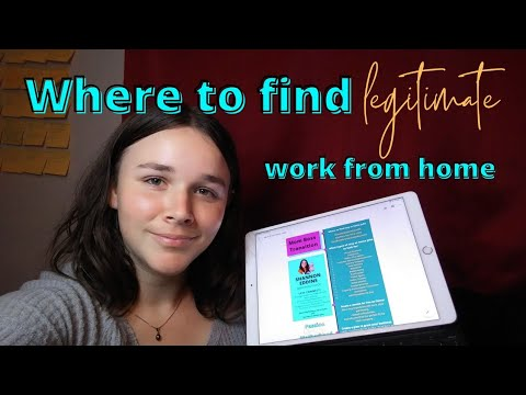 Where To Find Legitimate Work From Home Jobs (for moms and women)