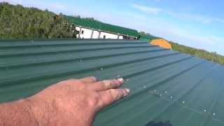 10 x 12 Shed Lean-to Roof Done - Finally. work continues on the ArizonaHotHomestead